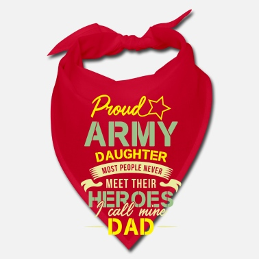 Meeting Proud Army daughter heroes Dad - Bandana
