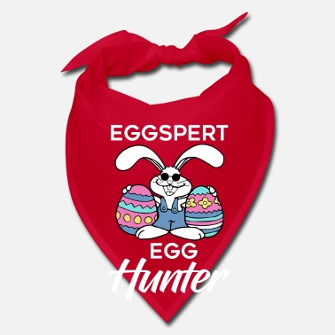 Carrot Eggspert Egg Hunter - Easter Rabbit - Bandana