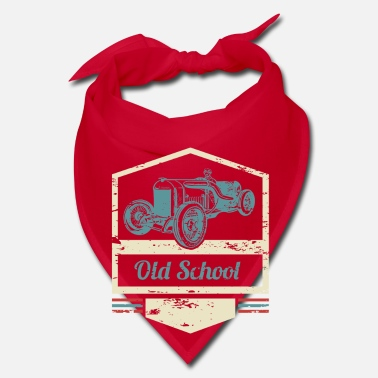 Old School Old School - classic oldtimer vintage cars - Bandana