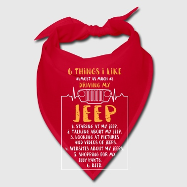 6 things i like driving my Jeep - Bandana