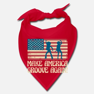 Black History Make America groove again - USA dancing flag - Bandana