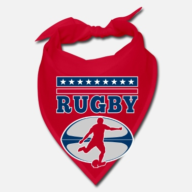Rugby Rugby - football vintage USA player design - Bandana