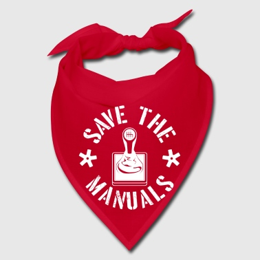 Save the Manuals - car gear shifting - Bandana