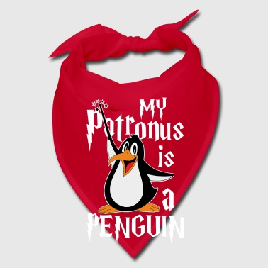 My Patronus is a Penguin - pun wizard - Bandana