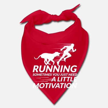 Sprinting Running sometimes you need a little Motivation  - Bandana