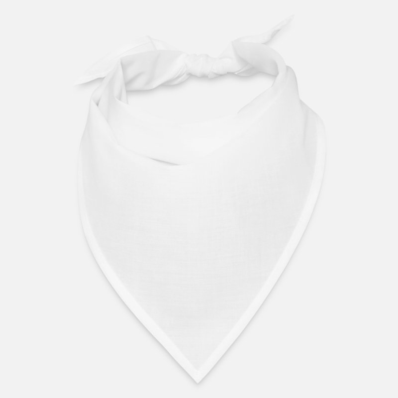 Scout Caps - Being a Scout is a post apocalyptic survival Skill - Bandana white