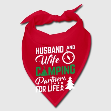 Husband and wife camping - Bandana