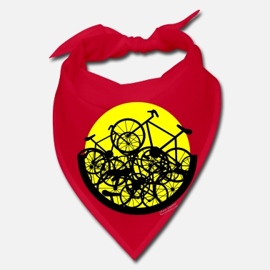 Bike Jumbled Bike Circle - Bandana