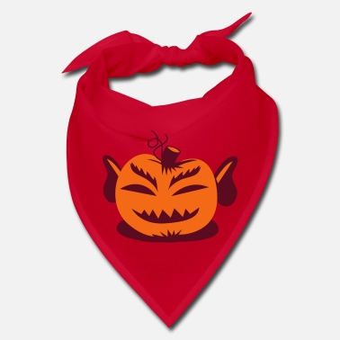 Strange Mr spock from Star trek on a Halloween pumpkin - Bandana