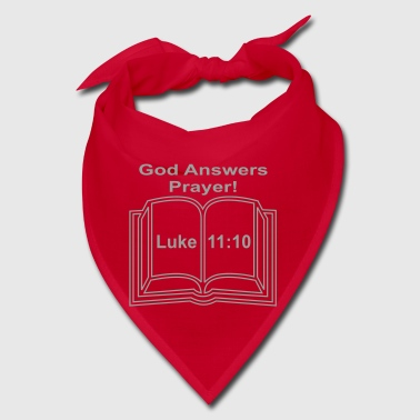 GOD ANSWERS PRAYER LUKE 11:10 - Bandana