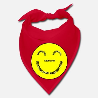 Band Marching Band Smiling Face - Bandana