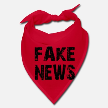 Fake FAKE NEWS, fake news shirt - Bandana
