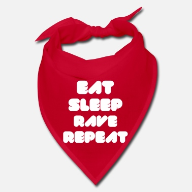 Rave  EAT SLEEP RAVE REPEAT - Bandana