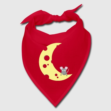 mouse on the cheese moon - Bandana