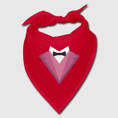 Pink Tuxedo Suit with bow tie Sp81h - Bandana