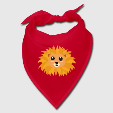 Kawaii lion head S9dq4 - Bandana