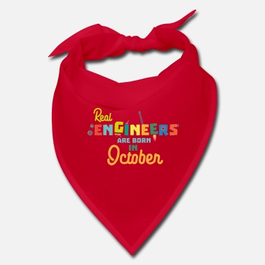 October Engineers are born in October Ss52p - Bandana
