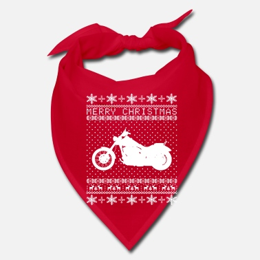 Bike Ugly Bike Xmas Sweater - Bandana