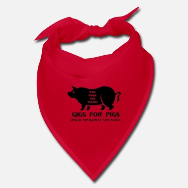 Stencil Gigs for Pigs - Bandana