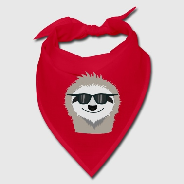 Sloth with sunglasses Shdn7 - Bandana