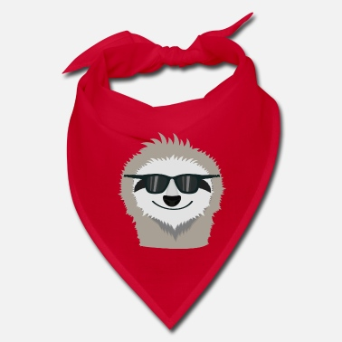 Sunglasses Sloth with sunglasses Shdn7 - Bandana
