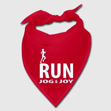 Joy Run, jog and joy - Bandana