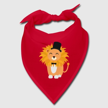 Lion with bow tie  S4y7w - Bandana