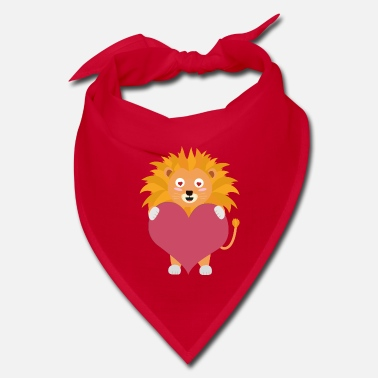 Big Lion with big heart Sw292 - Bandana