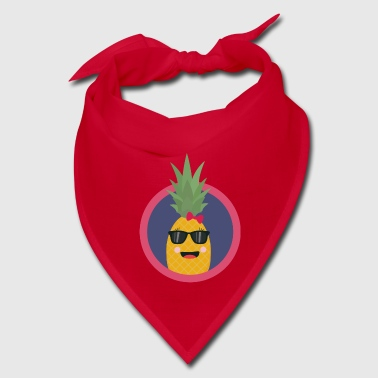 Cool pineapple with sunglasses - Bandana