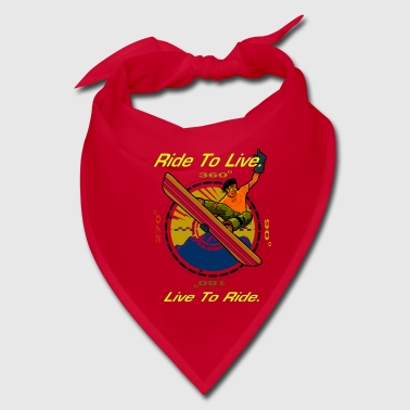 Ride To Live - Bandana