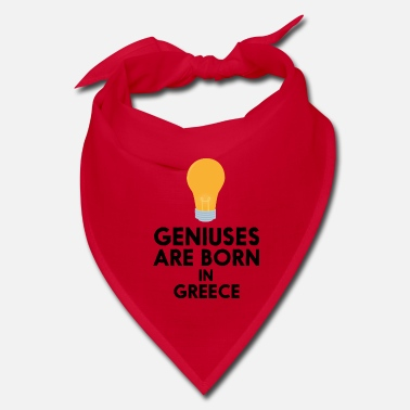 Greece Geniuses are born in GREECE S8f9y - Bandana