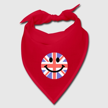 British Flag Smiley Face - Bandana