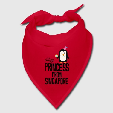 ditzy Princess from Singapore - Bandana
