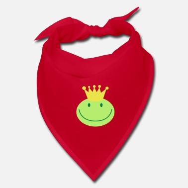 Prince frog prince froggy face with a smile - Bandana