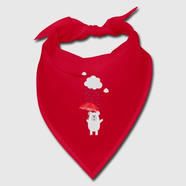 Polar Bear with Umbrella S32lb - Bandana
