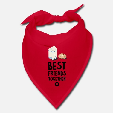 Milk Cookies and Milk Best friends Heart S5f3b - Bandana