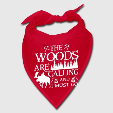The woods are calling - Bandana