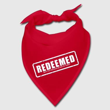 Redeemed with the precious blood of Christ - Bandana