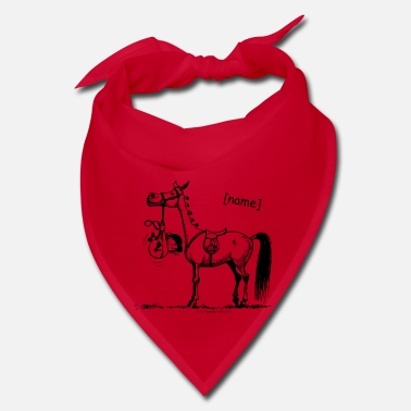 Pony Stubborn Pony Thelwell Cartoon - Bandana