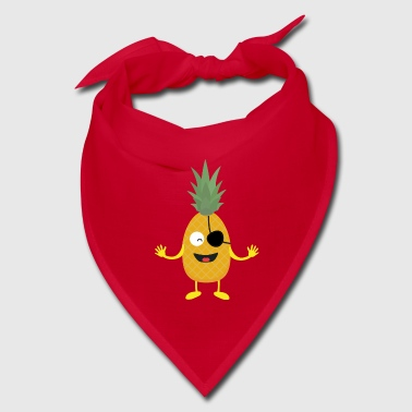 Pineapple Pirate with eye-patch S9ozq - Bandana