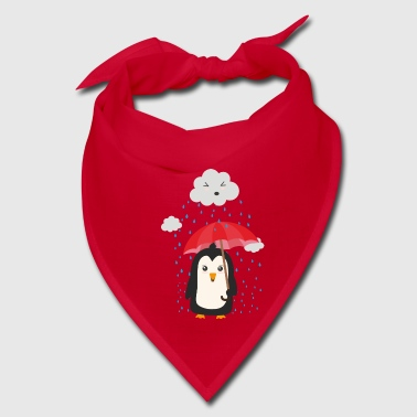 Penguin in the rain - Bandana