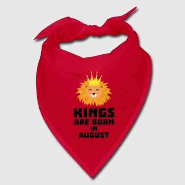 Kings are born in AUGUST S32zl - Bandana