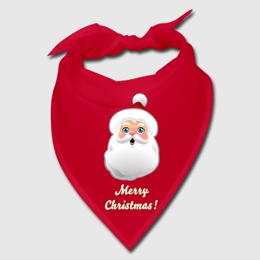 Cute Santa Santa Claus Cartoon - Bandana
