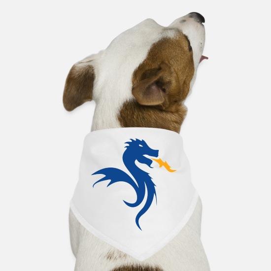 buy popular 4a7de bccaa FC Porto Dragon Dog Bandana - white