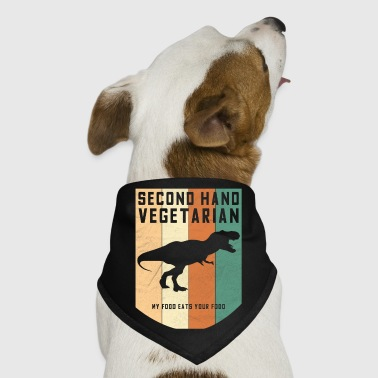 Second Hand Vegetarian Dinosaur - Dog Bandana