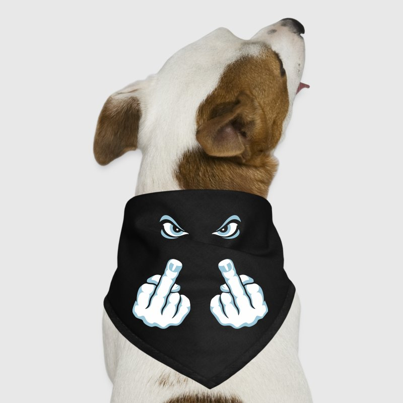 The Finger (Fuck Off / Fuck You) - Dog Bandana
