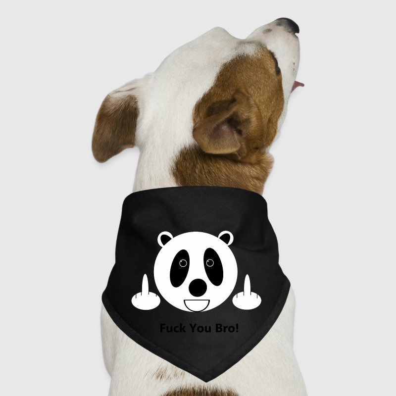 Fuck You Bro Panda - Dog Bandana