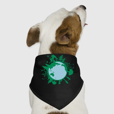 earth day family - Dog Bandana