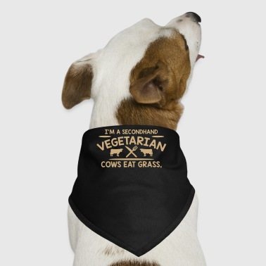 Im A Second Hand Vegetarian Cows - Dog Bandana