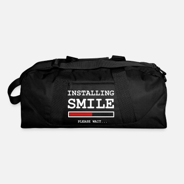 Wait Installing Smile ... please wait - Duffle Bag